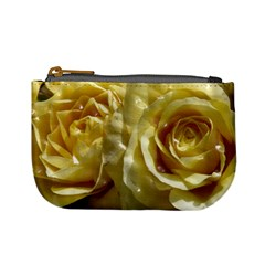Yellow Roses Mini Coin Purses