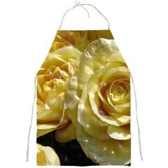 Yellow Roses Full Print Aprons
