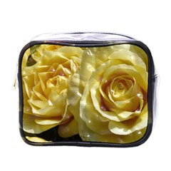 Yellow Roses Mini Toiletries Bags