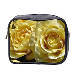 Yellow Roses Mini Toiletries Bag 2 Side