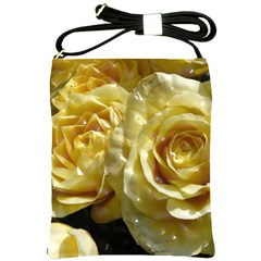 Yellow Roses Shoulder Sling Bags