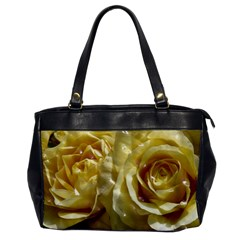 Yellow Roses Office Handbags