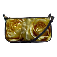 Yellow Roses Shoulder Clutch Bags