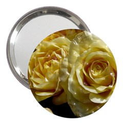 Yellow Roses 3  Handbag Mirrors