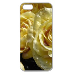 Yellow Roses Apple Seamless Iphone 5 Case (clear)
