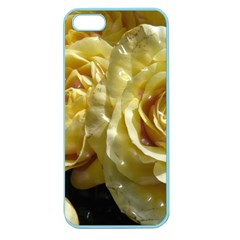 Yellow Roses Apple Seamless Iphone 5 Case (color)