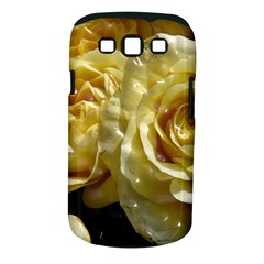 Yellow Roses Samsung Galaxy S Iii Classic Hardshell Case (pc+silicone)