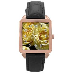 Yellow Roses Rose Gold Watches