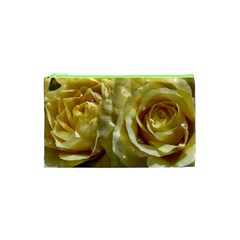 Yellow Roses Cosmetic Bag (xs)