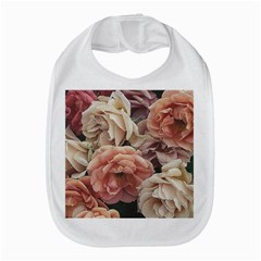 Great Garden Roses, Vintage Look  Bib