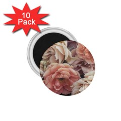 Great Garden Roses, Vintage Look  1 75  Magnets (10 Pack)