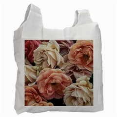 Great Garden Roses, Vintage Look  Recycle Bag (one Side)