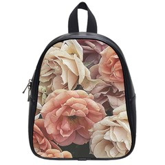 Great Garden Roses, Vintage Look  School Bags (small)  by MoreColorsinLife