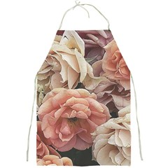 Great Garden Roses, Vintage Look  Full Print Aprons