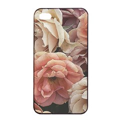 Great Garden Roses, Vintage Look  Apple Iphone 4/4s Seamless Case (black)