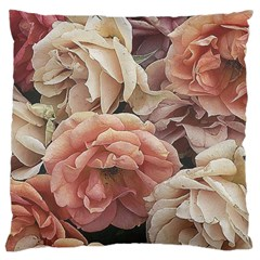 Great Garden Roses, Vintage Look  Large Cushion Cases (one Side)