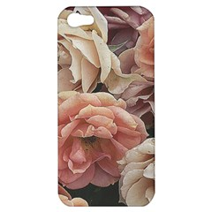 Great Garden Roses, Vintage Look  Apple Iphone 5 Hardshell Case