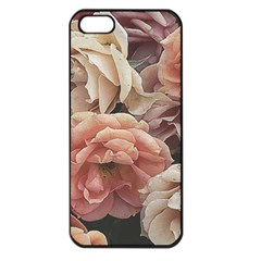 Great Garden Roses, Vintage Look  Apple Iphone 5 Seamless Case (black)