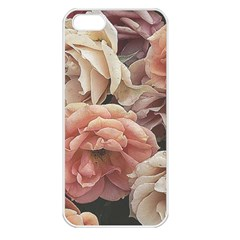 Great Garden Roses, Vintage Look  Apple Iphone 5 Seamless Case (white)