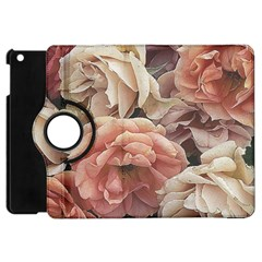 Great Garden Roses, Vintage Look  Apple Ipad Mini Flip 360 Case