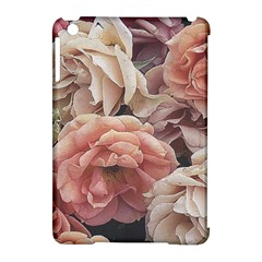 Great Garden Roses, Vintage Look  Apple Ipad Mini Hardshell Case (compatible With Smart Cover)