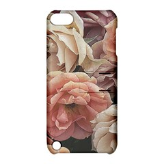 Great Garden Roses, Vintage Look  Apple Ipod Touch 5 Hardshell Case With Stand
