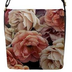 Great Garden Roses, Vintage Look  Flap Messenger Bag (s)