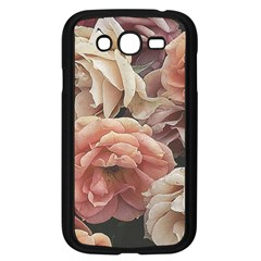 Great Garden Roses, Vintage Look  Samsung Galaxy Grand Duos I9082 Case (black)