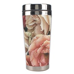Great Garden Roses, Vintage Look  Stainless Steel Travel Tumblers
