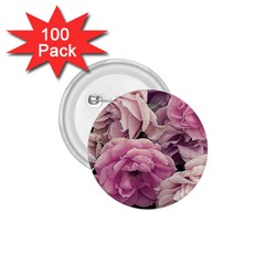 Great Garden Roses Pink 1 75  Buttons (100 Pack)  by MoreColorsinLife