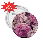 Great Garden Roses Pink 2.25  Buttons (100 pack)