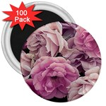 Great Garden Roses Pink 3  Magnets (100 pack)