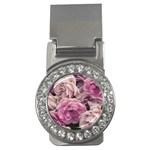 Great Garden Roses Pink Money Clips (CZ)