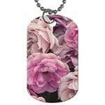 Great Garden Roses Pink Dog Tag (One Side)