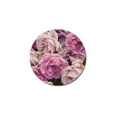Great Garden Roses Pink Golf Ball Marker (4 Pack)