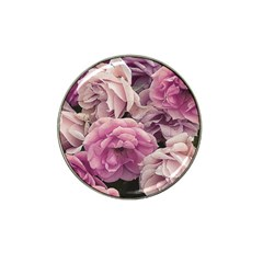 Great Garden Roses Pink Hat Clip Ball Marker