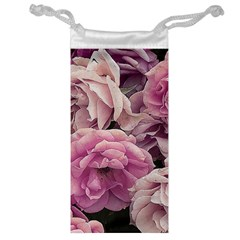 Great Garden Roses Pink Jewelry Bags