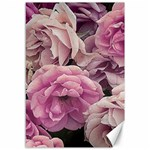 Great Garden Roses Pink Canvas 12  x 18