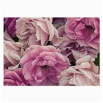 Great Garden Roses Pink Large Glasses Cloth