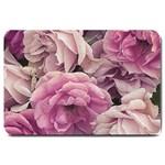 Great Garden Roses Pink Large Doormat