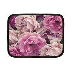 Great Garden Roses Pink Netbook Case (small)