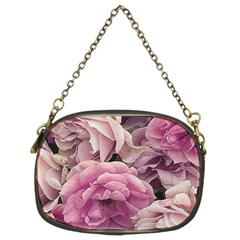 Great Garden Roses Pink Chain Purses (two Sides)