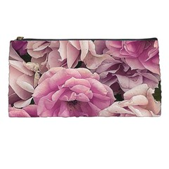 Great Garden Roses Pink Pencil Cases by MoreColorsinLife