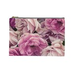 Great Garden Roses Pink Cosmetic Bag (Large)
