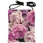 Great Garden Roses Pink Shoulder Sling Bags