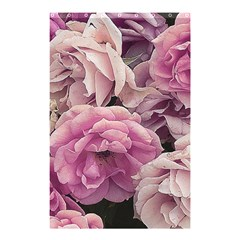 Great Garden Roses Pink Shower Curtain 48  X 72  (small)