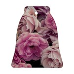 Great Garden Roses Pink Bell Ornament (2 Sides)