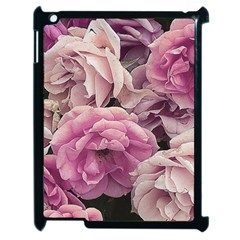 Great Garden Roses Pink Apple Ipad 2 Case (black)