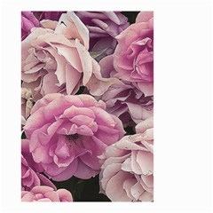 Great Garden Roses Pink Small Garden Flag (two Sides)