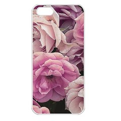 Great Garden Roses Pink Apple Iphone 5 Seamless Case (white) by MoreColorsinLife
